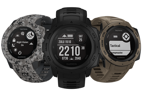 Instinct Tactical Edition Series - Tactical edition , outdoor gps watch