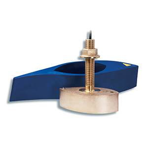 Bronze Thru-hull Mount Transducer with Depth & Temperature - Airmar B265LM