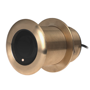 Bronze Thru-hull Transducer with Depth & Temperature (20° tilt, 8-pin) - Airmar B75H