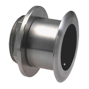 Stainless Steel Thru-hull Mount Transducer with Depth & Temperature (20° tilt) - Airmar SS164